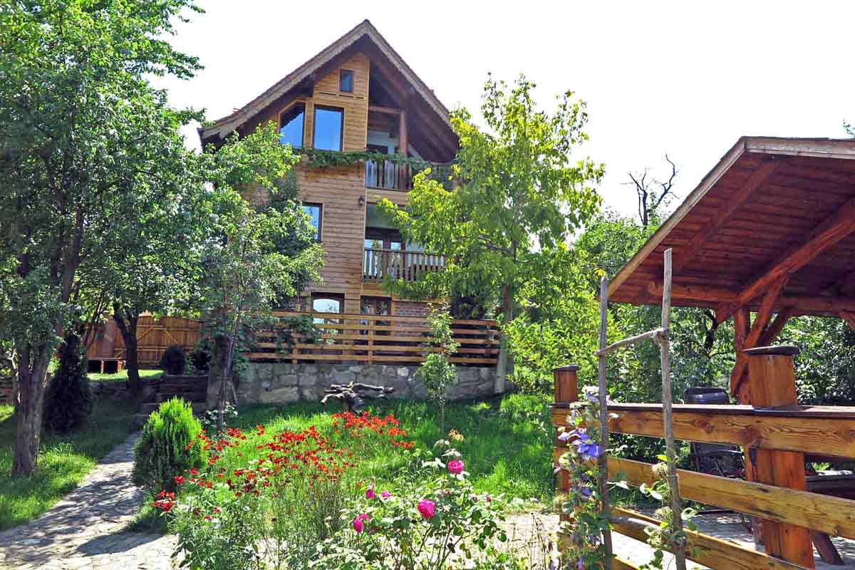 pet friendly holiday chalet villa romania rentals with fireplace