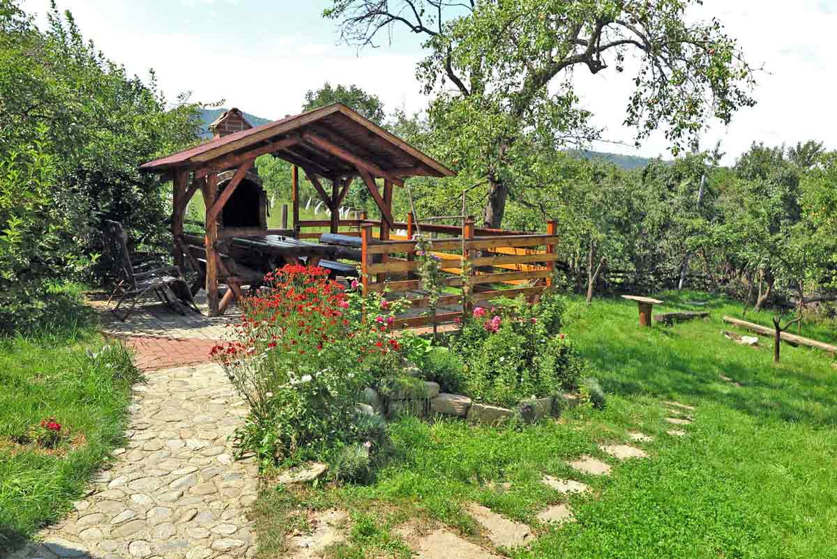 romanian mountain chalet transylvania for family holidays with fireplace