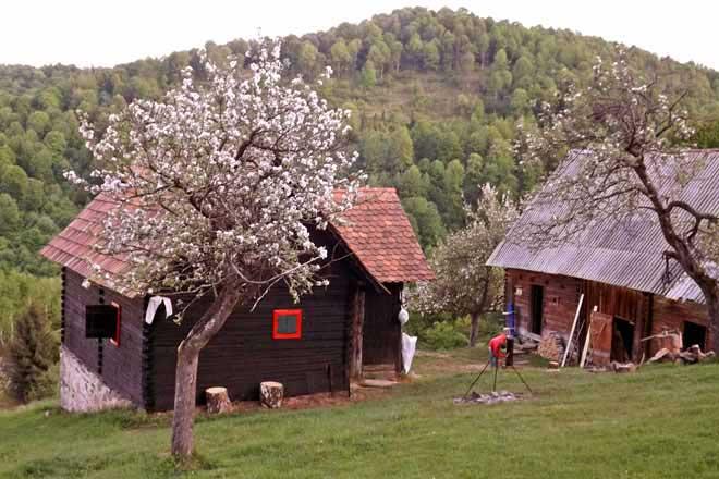 cozo fantu | carpathian mountain log cabin romania cottages transylvania