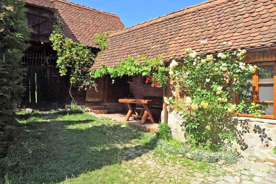 traditional farmhouse rental romania in the transylvanian countryside