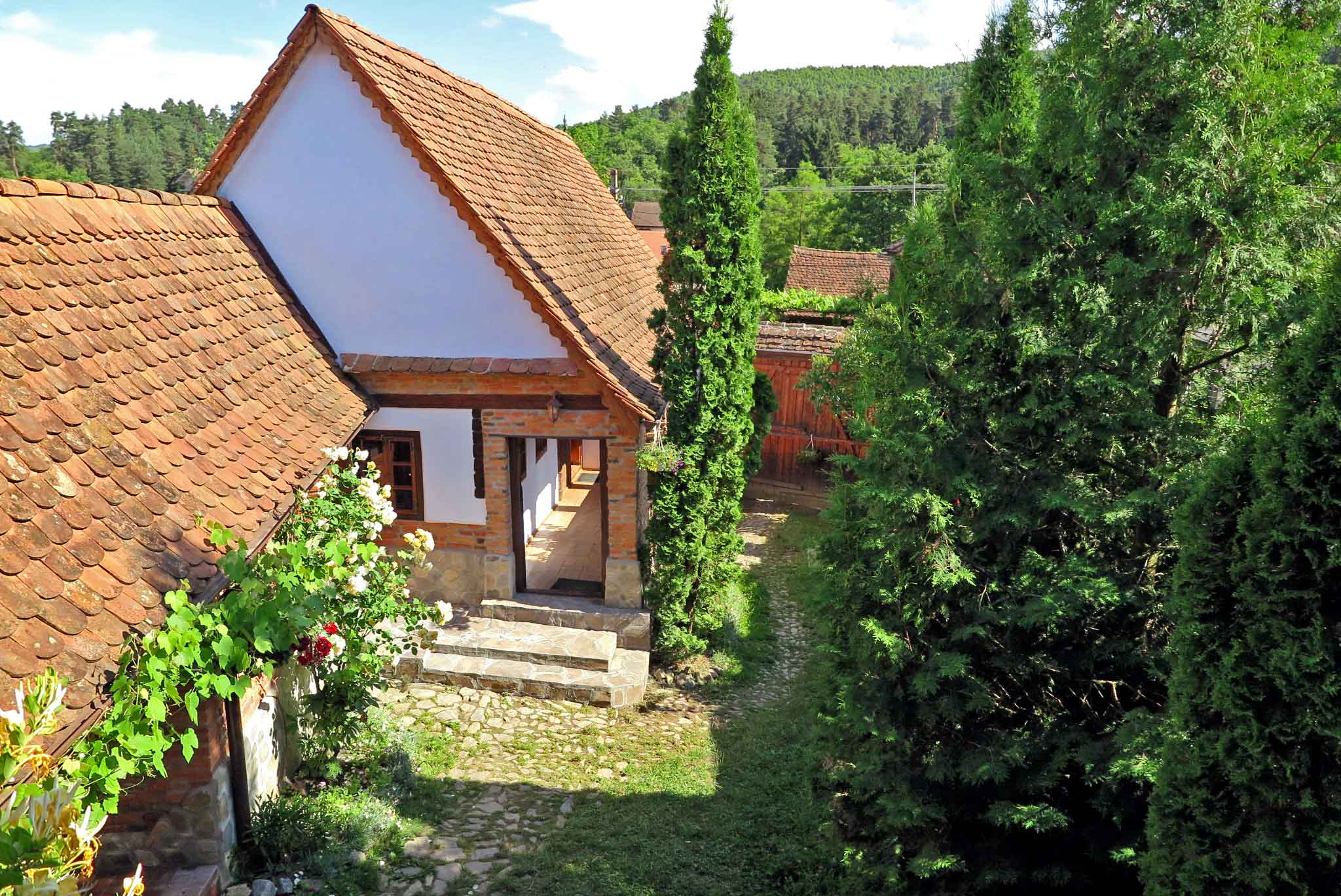 carpathian farm house for rent in romania at the foot of the carpathian mountains