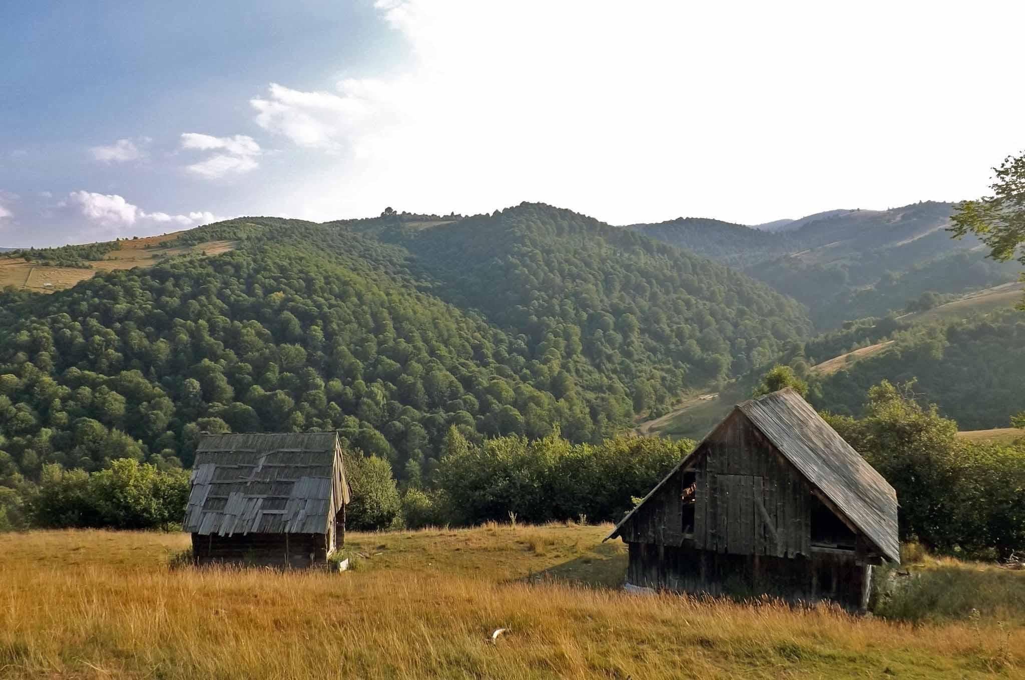 shepherds hut romania mountain shelter transylvania