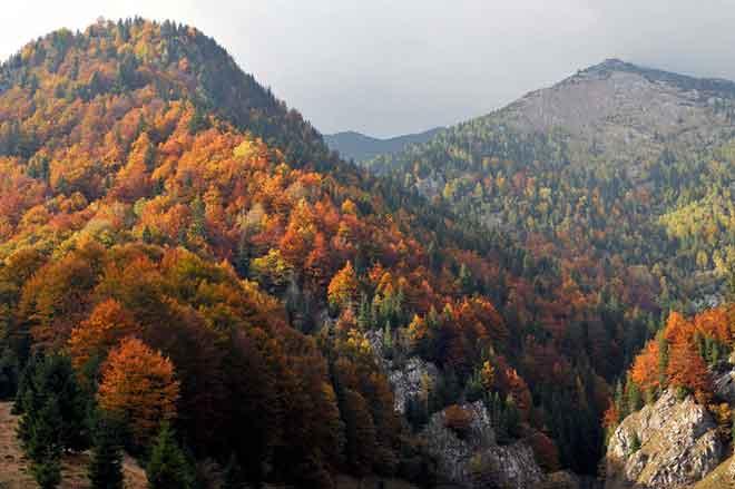 hiking transylvania trekking romania