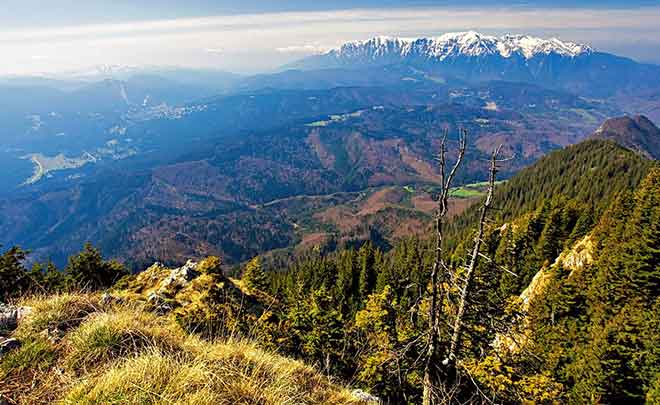 hiking carpathians trekking