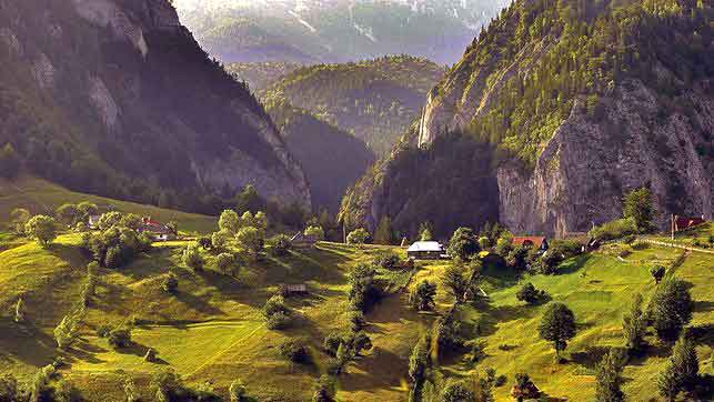 hiking carpathian mountains romania walking holidays