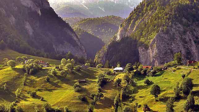 hiking carpathian mountains romania walking holidays