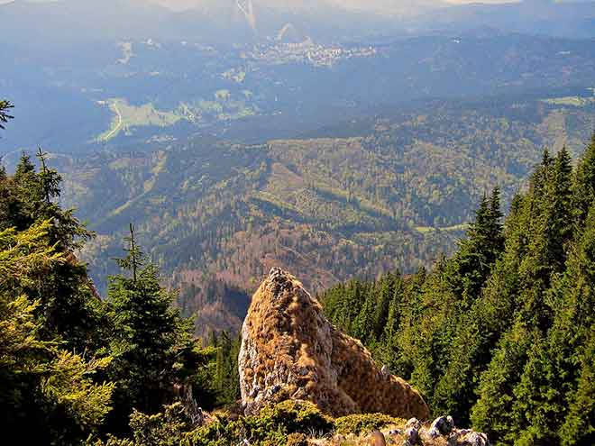 hiking carpathians pictures of transylvanian mountains