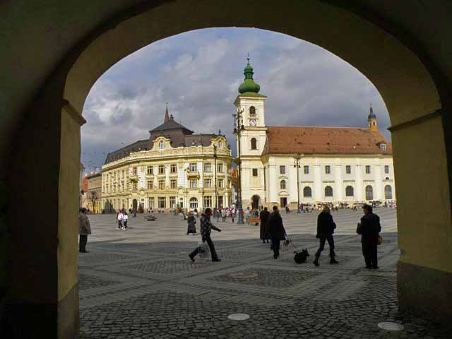 sibiu pictures of the old town and other attractions