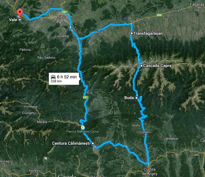 transfagarasan romania road trip