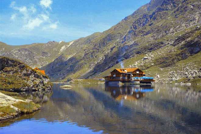 balea lac transfagarasan poze