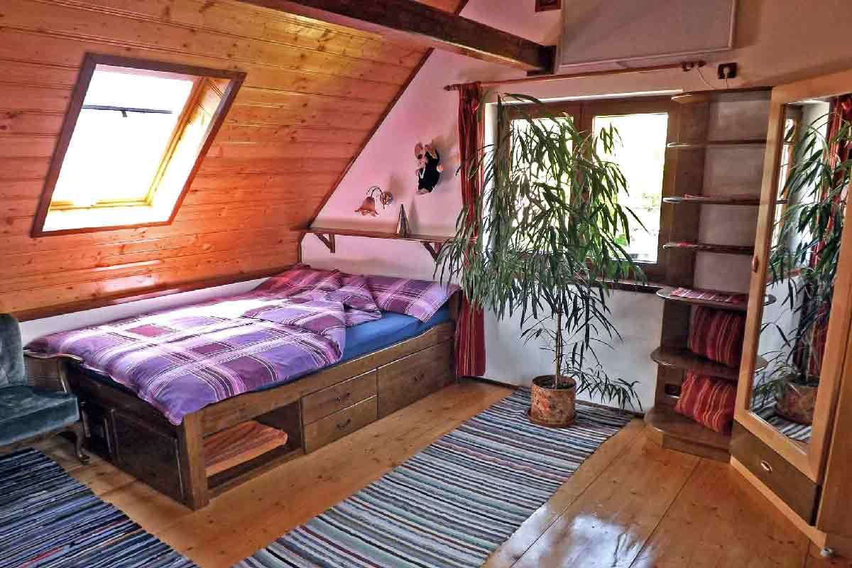 Maison vacances campagne roumanie dans un village des Carpates