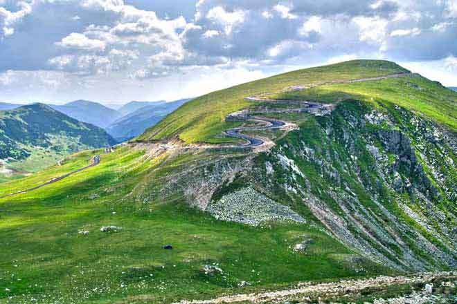 images transalpine roumanie - tours en moto dans les montagnes