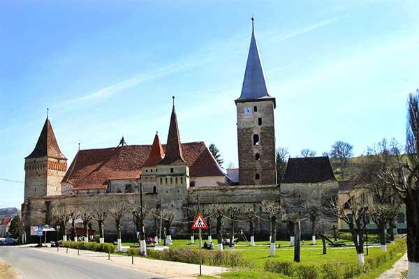 transylvania fortified churches romania