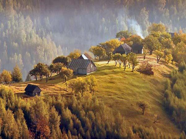fotos karpaten bilder berge rumaenien